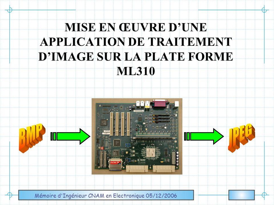 Mémoire d Ingénieur CNAM en Electronique 05/12/2006