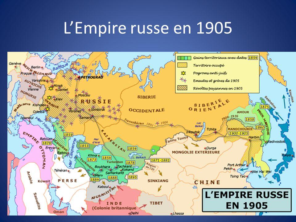L'Empire russe en 1905