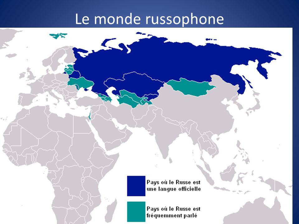 Le monde russophone