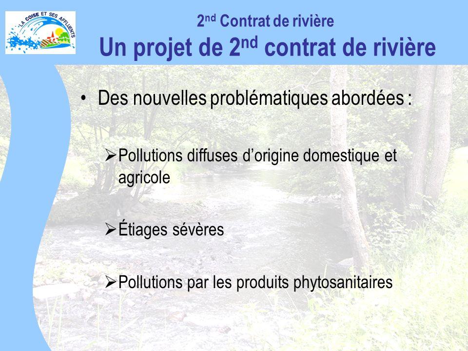 2nd Contrat de rivière Un projet de 2nd contrat de rivière