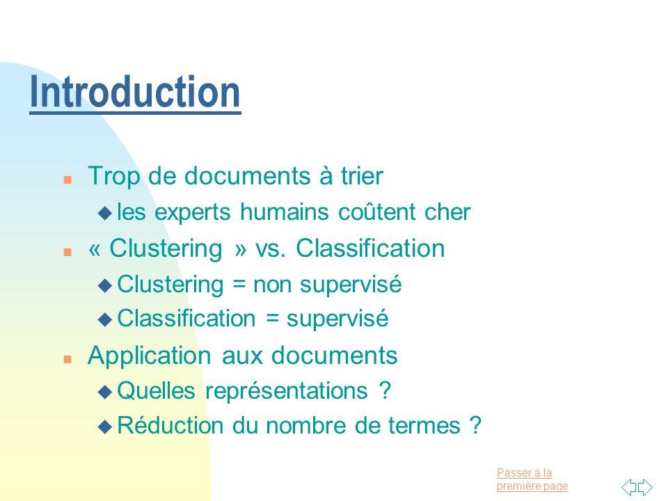 Introduction Trop de documents à trier