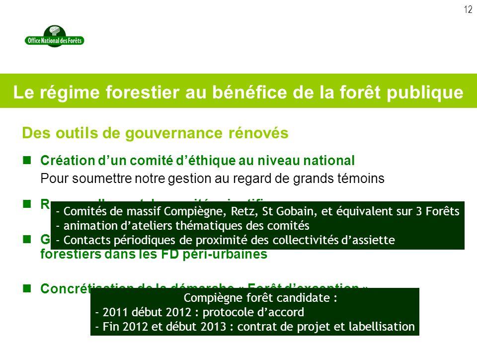 Le régime forestier au bénéfice de la forêt publique