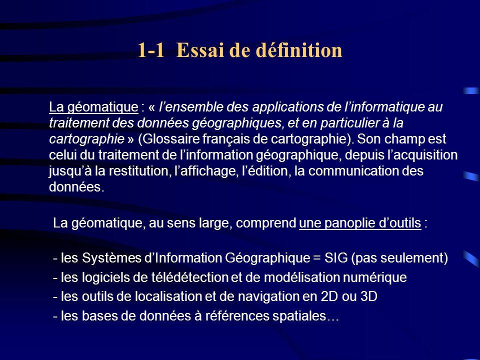 1-1 Essai de définition