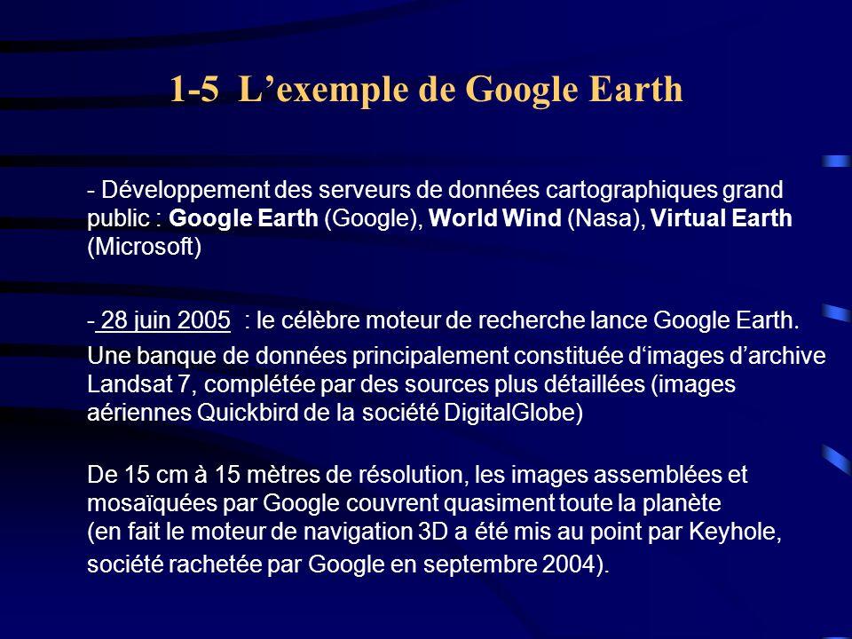 1-5 L'exemple de Google Earth