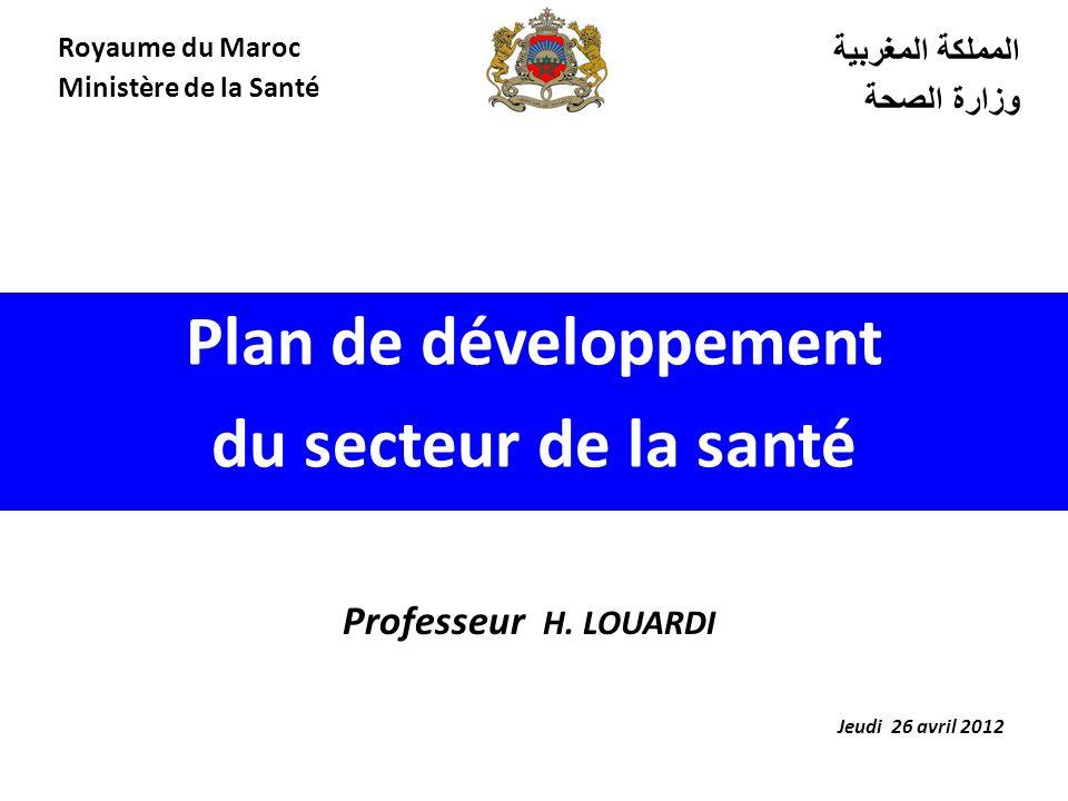 Plan de développement du secteur de la santé