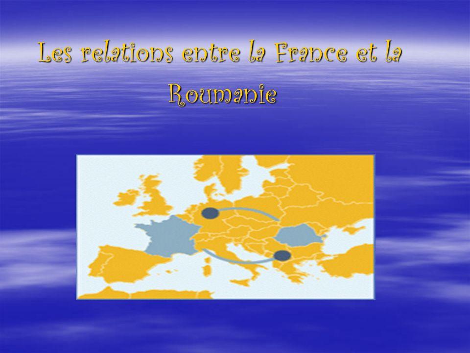 Les relations entre la France et la