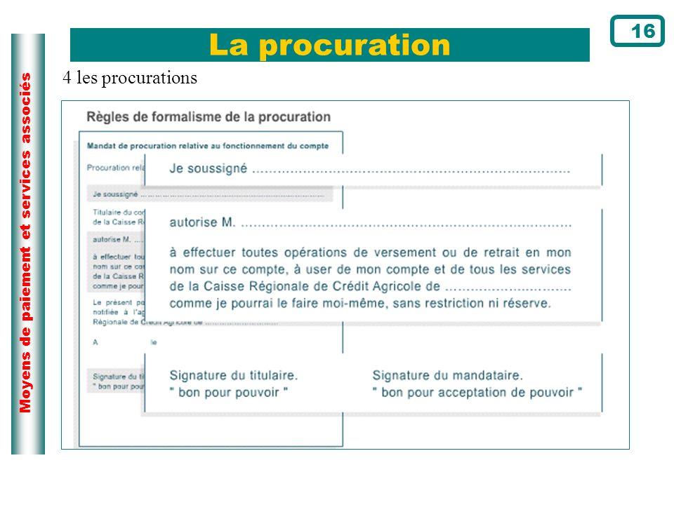 La procuration 16 4 les procurations Page du cours N°22