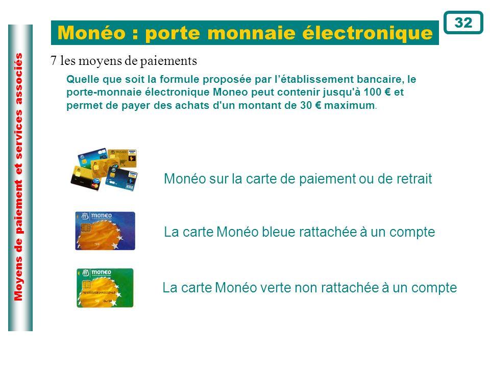 Monéo : porte monnaie électronique