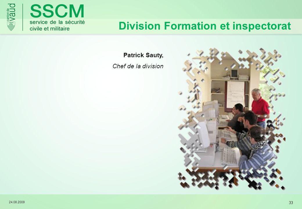 Division Formation et inspectorat