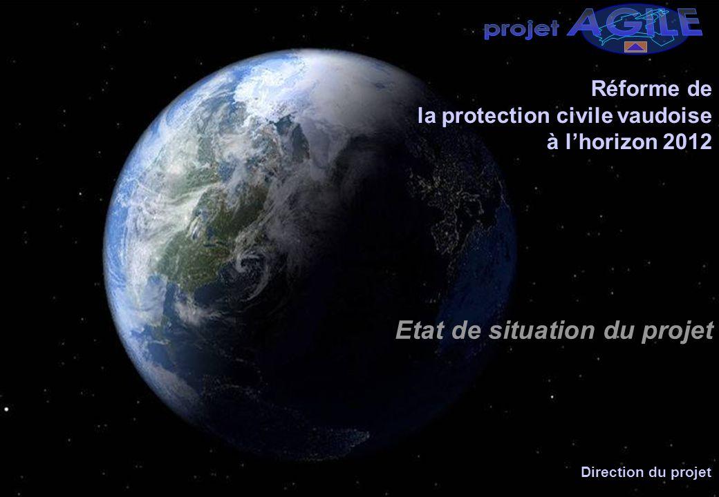 AGILE projet Etat de situation du projet Réforme de