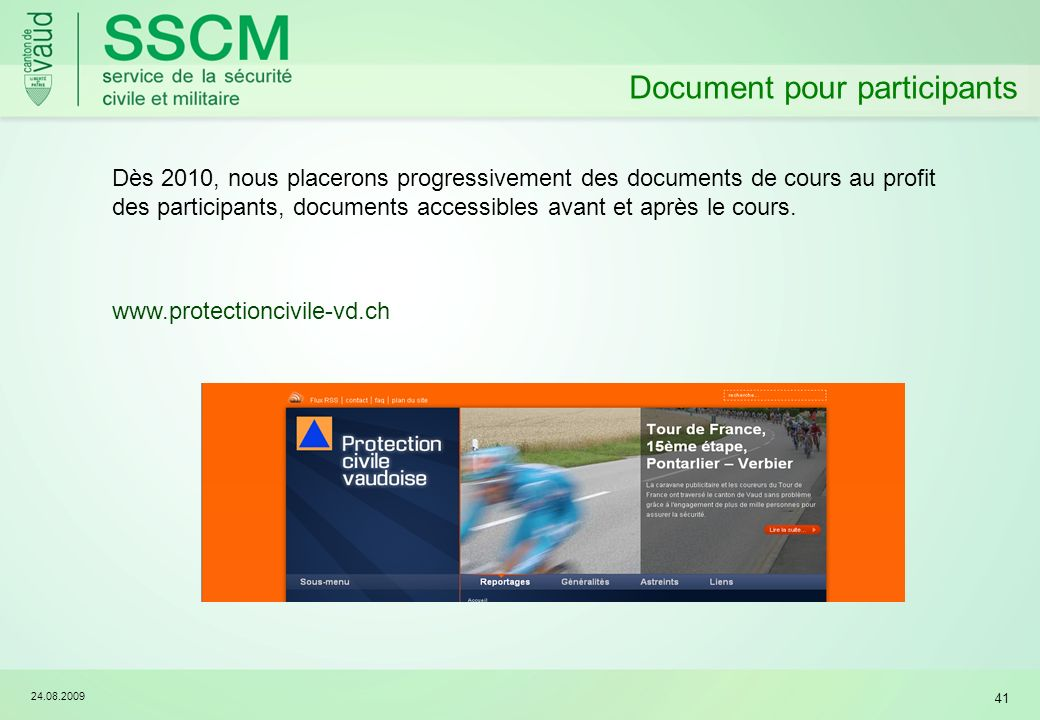 Document pour participants
