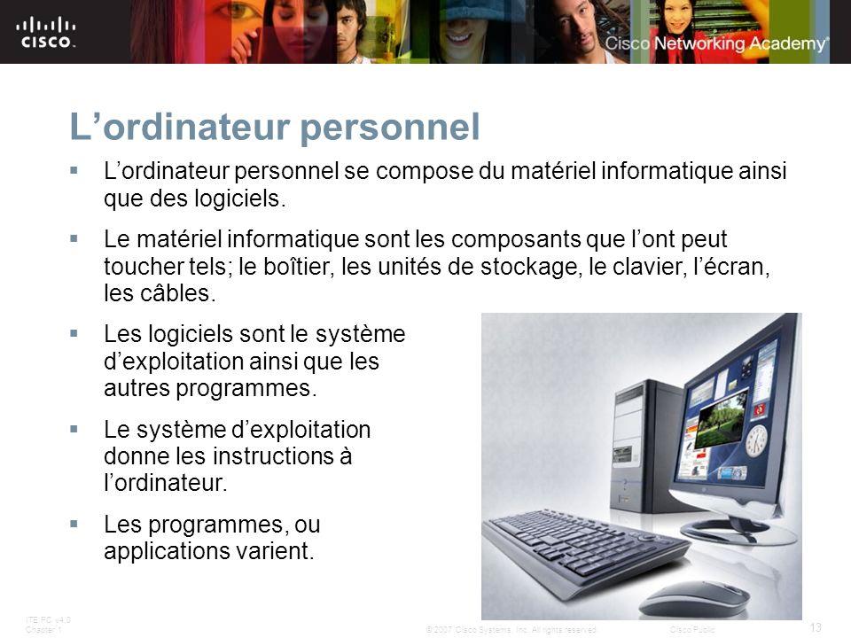 L'ordinateur personnel