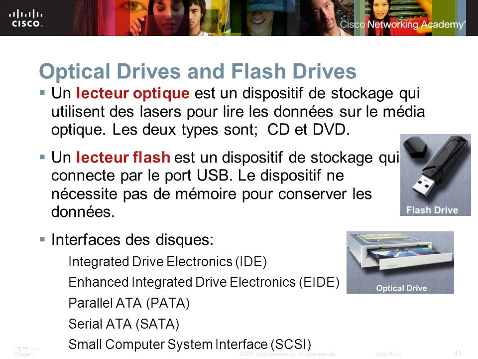 Optical Drives and Flash Drives