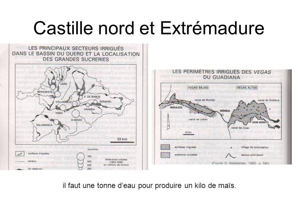 Castille nord et Extrémadure