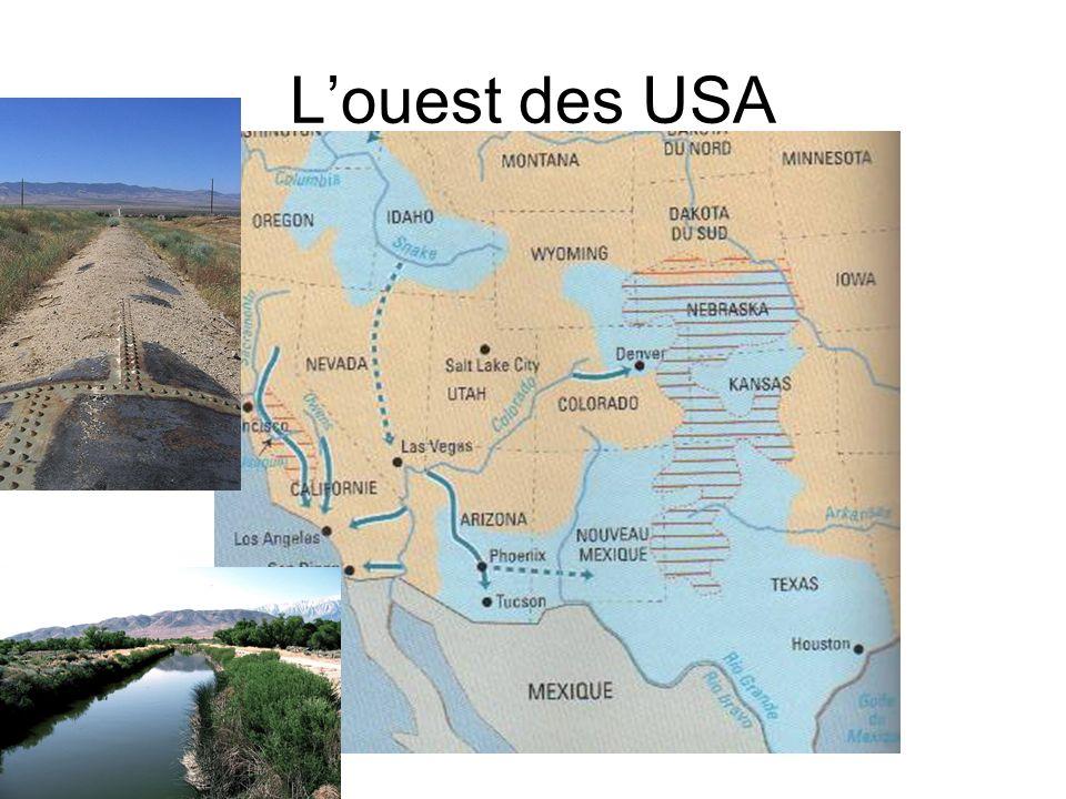 L'ouest des USA