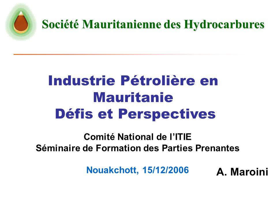 Industrie Pétrolière en Mauritanie Défis et Perspectives