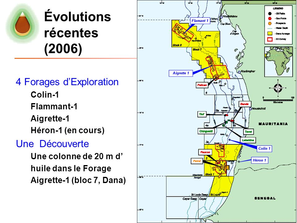 Évolutions récentes (2006)
