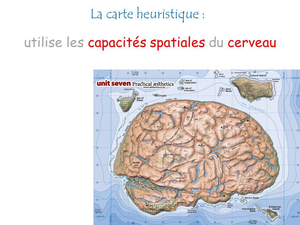 utilise les capacités spatiales du cerveau
