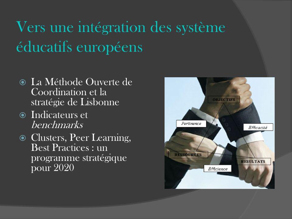 Vers une intégration des système éducatifs européens
