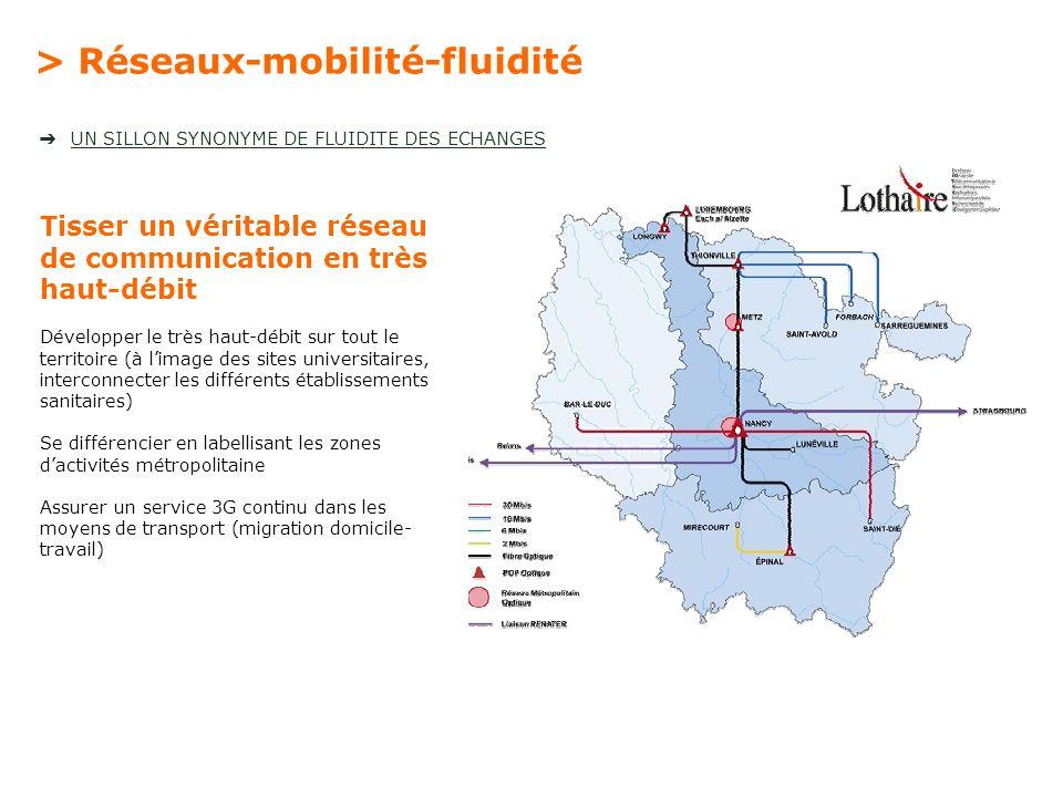 > Réseaux-mobilité-fluidité