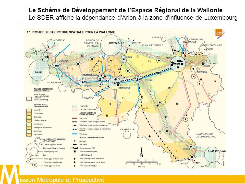 Le Schéma de Développement de l'Espace Régional de la Wallonie