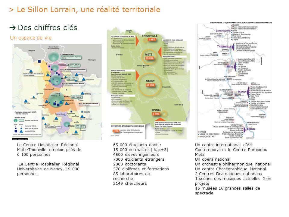 > Le Sillon Lorrain, une réalité territoriale