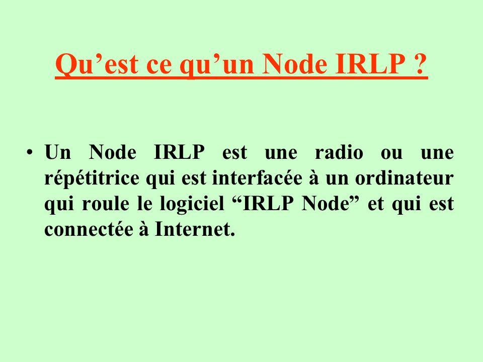Qu'est ce qu'un Node IRLP