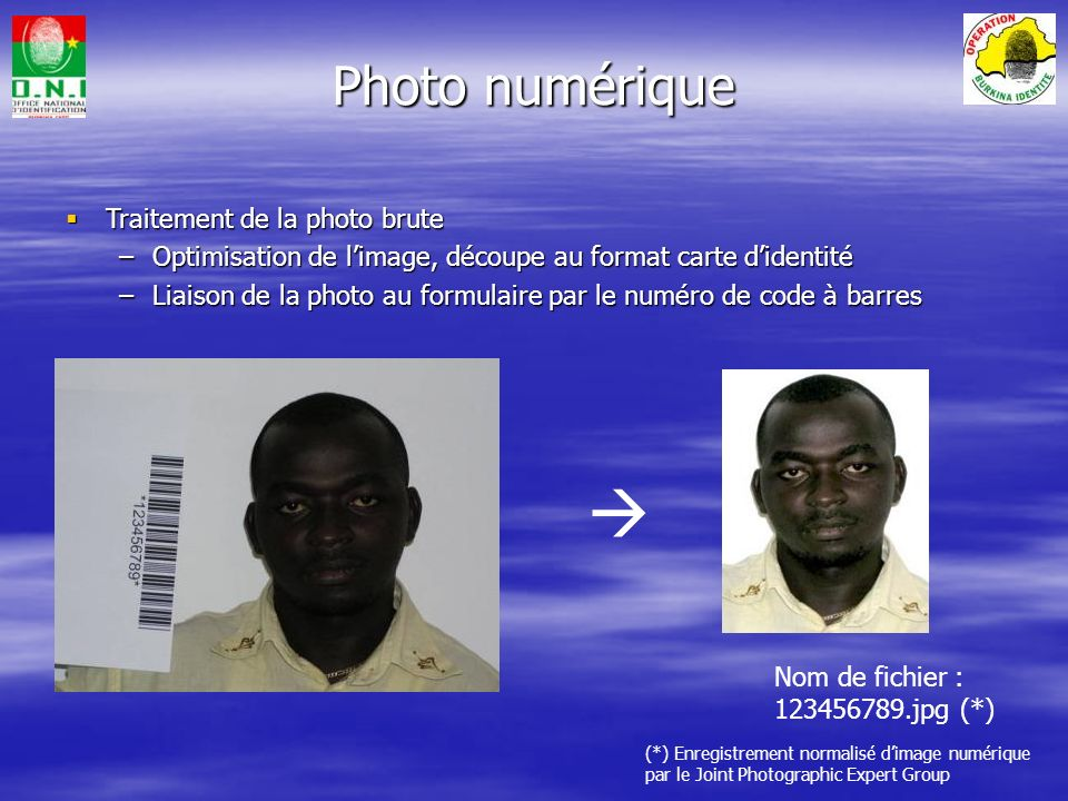  Photo numérique Traitement de la photo brute