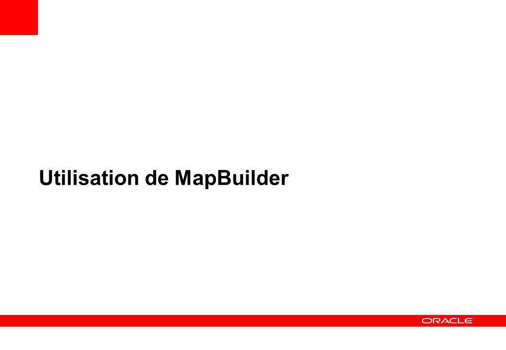 Utilisation de MapBuilder