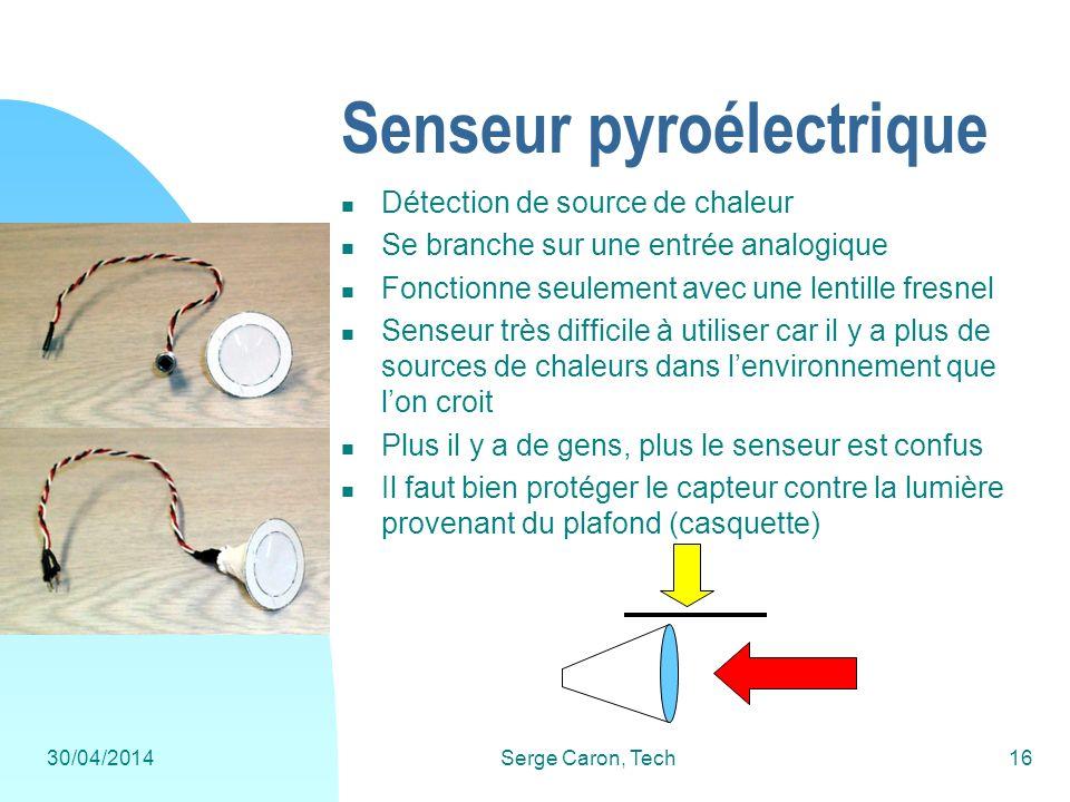 Senseur pyroélectrique