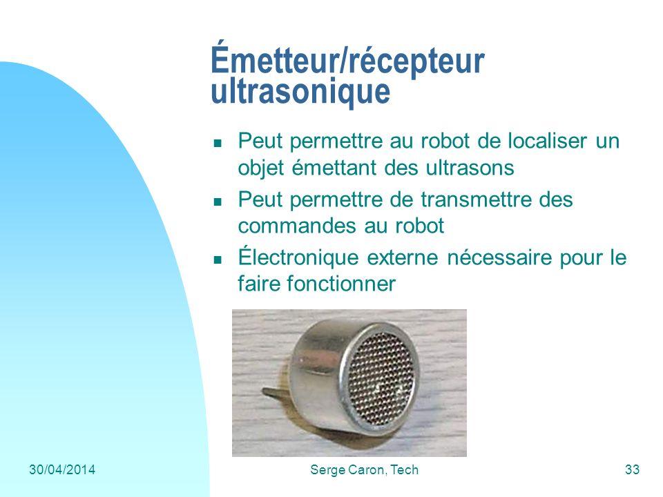 Émetteur/récepteur ultrasonique