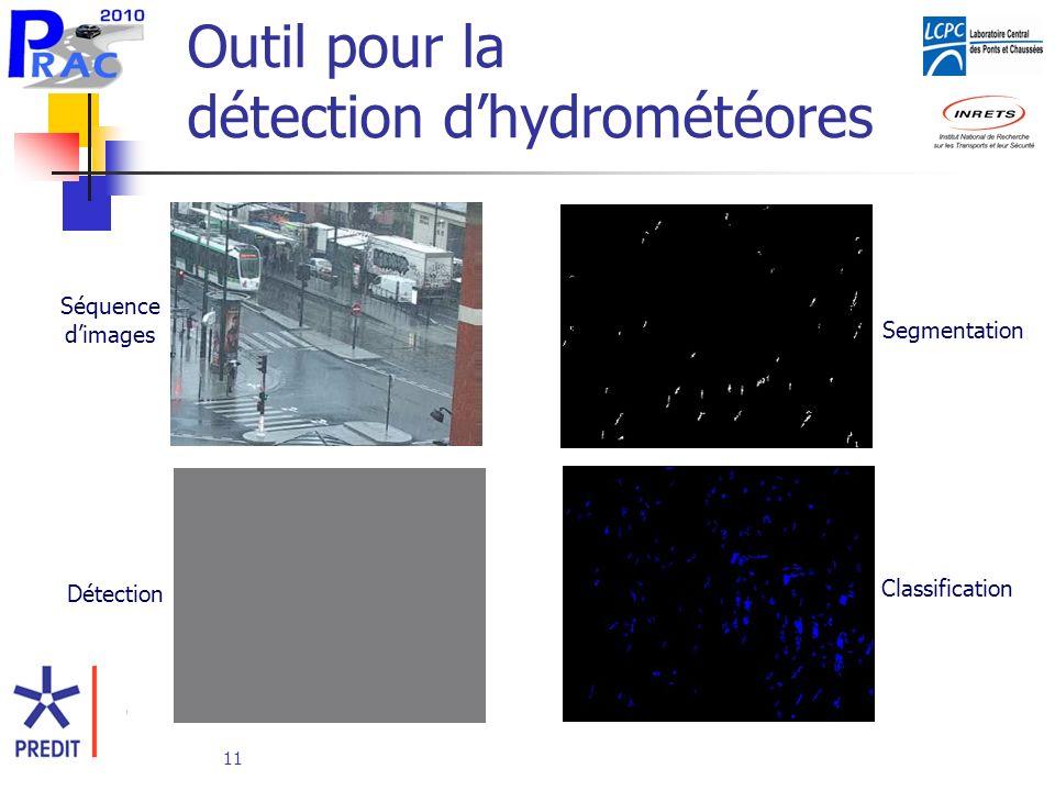 Outil pour la détection d'hydrométéores