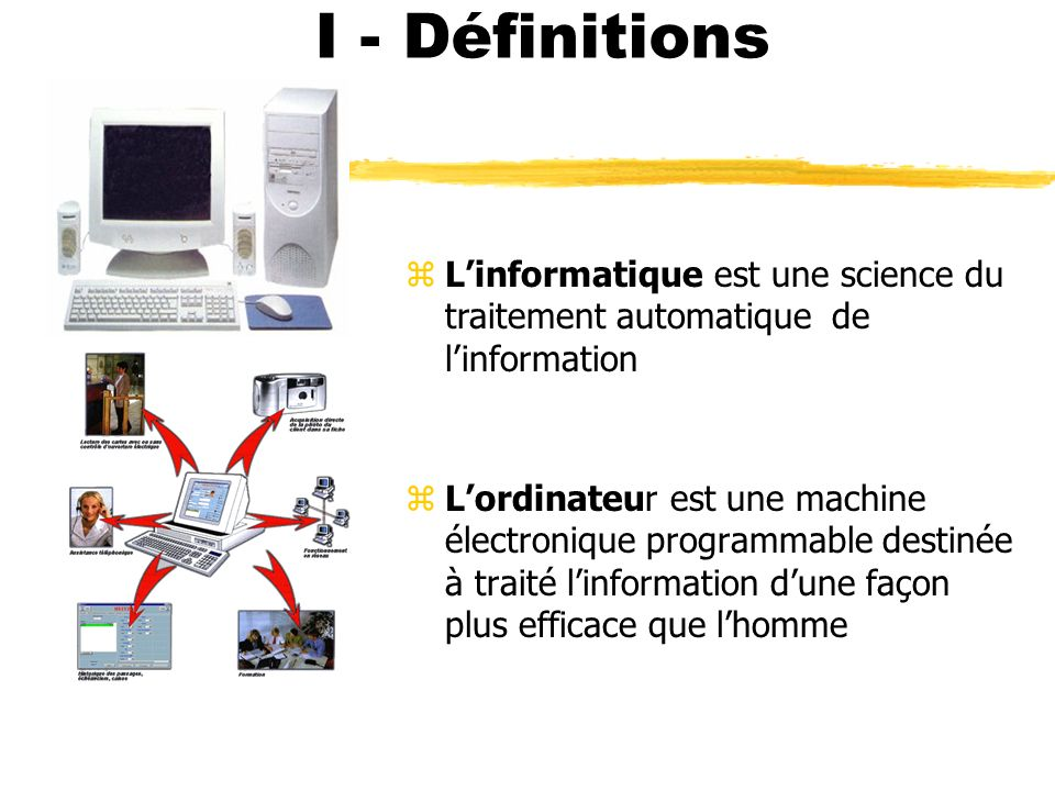Architecture d un micro ordinateur ppt t l charger for Definition de l