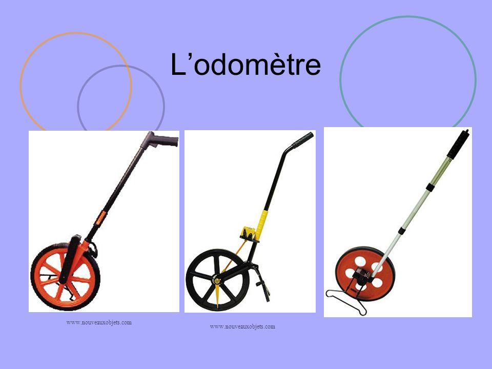 L'odomètre www.nouveauxobjets.com www.nouveauxobjets.com