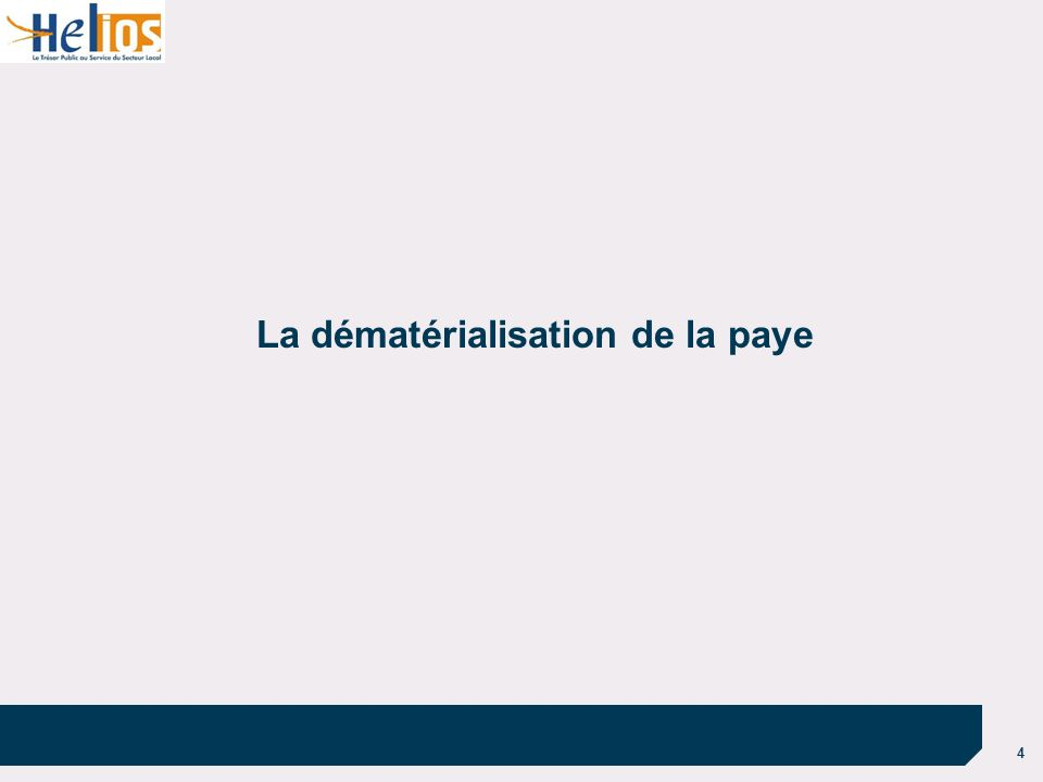 La dématérialisation de la paye