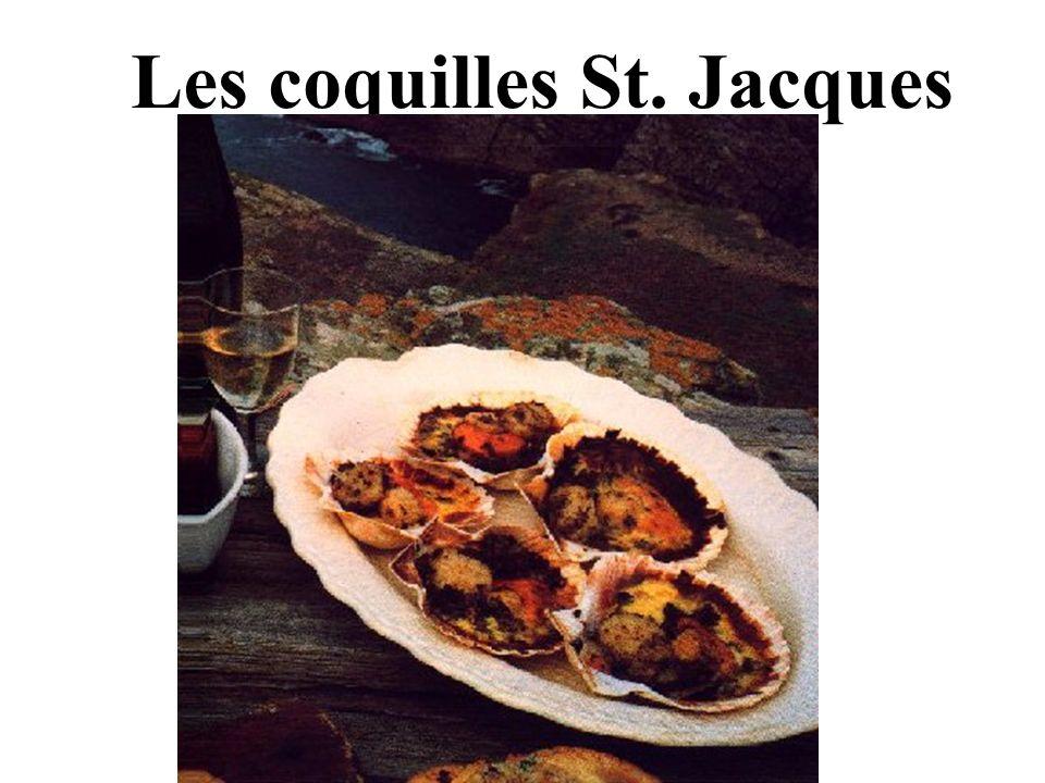 Les coquilles St. Jacques
