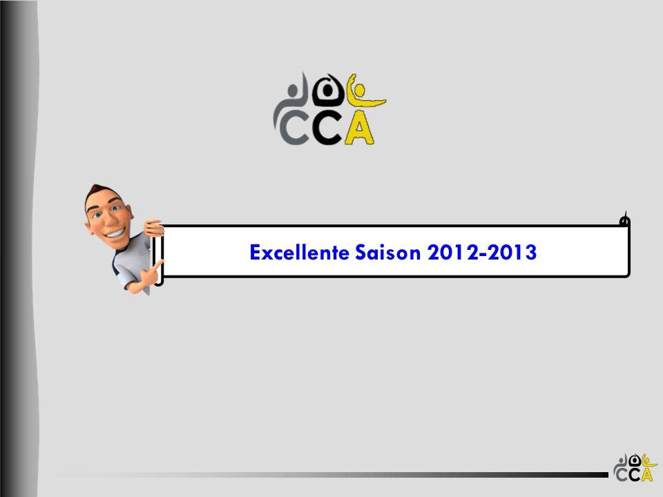 Excellente Saison 2012-2013