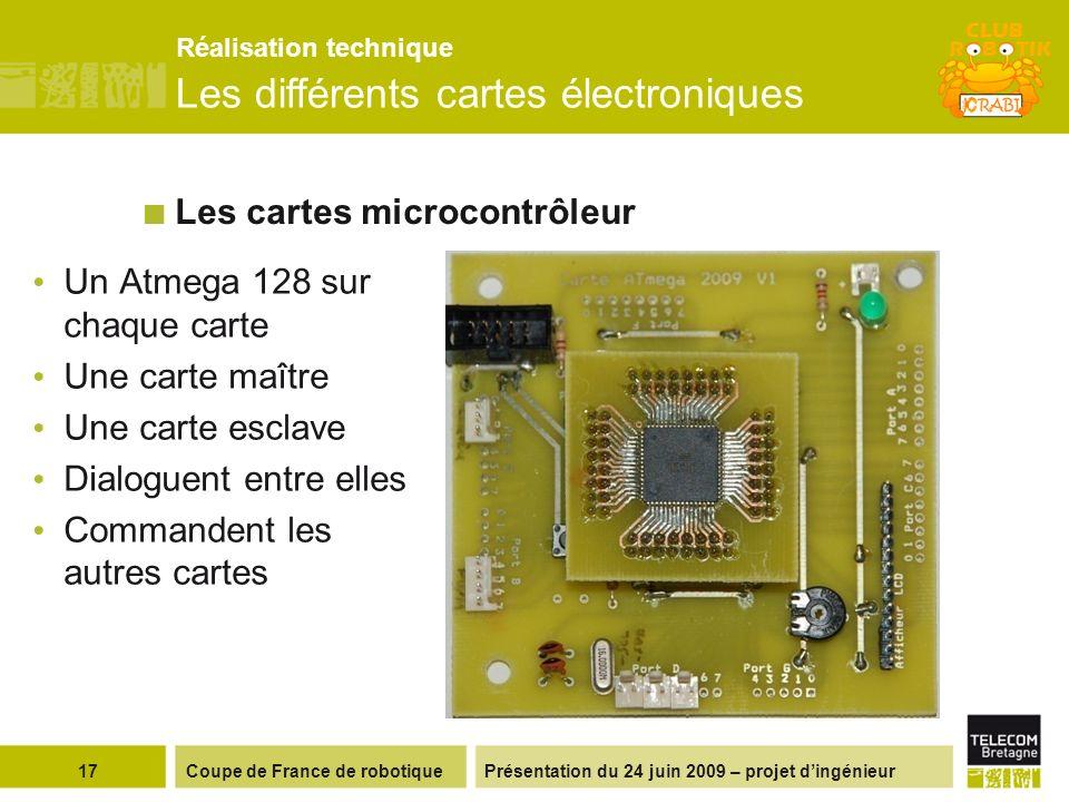 Les cartes microcontrôleur