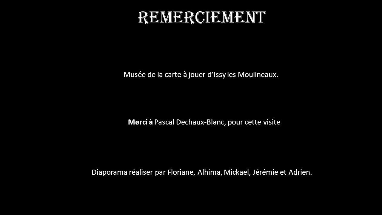 Merci à Pascal Dechaux-Blanc, pour cette visite