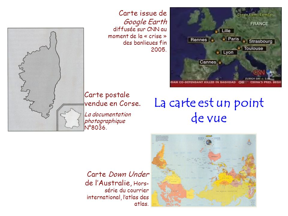 La carte est un point de vue