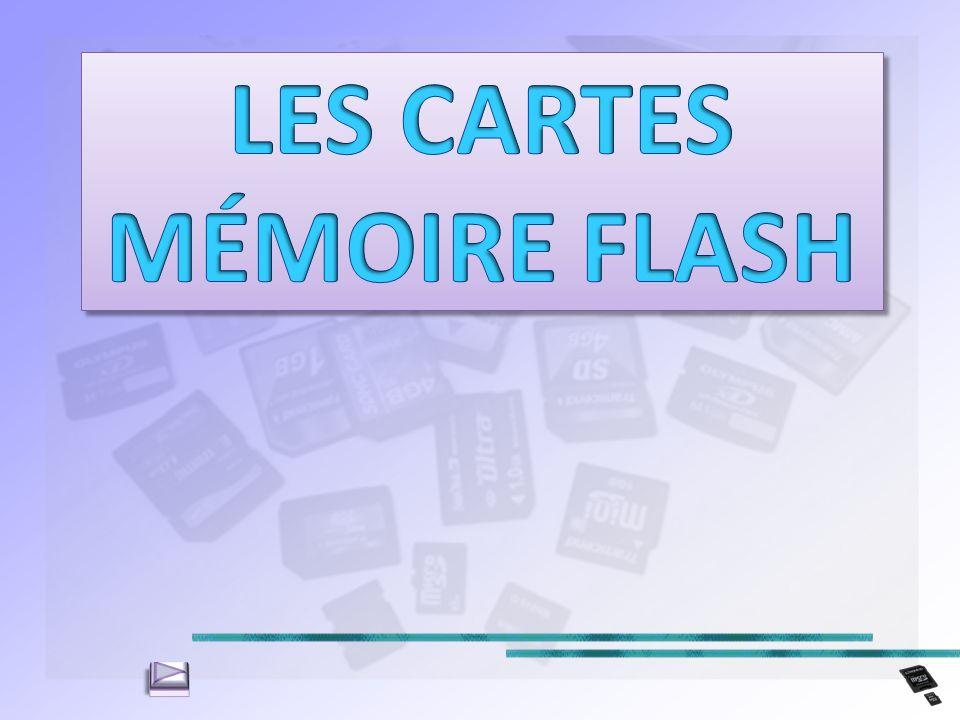 LES CARTES MÉMOIRE FLASH