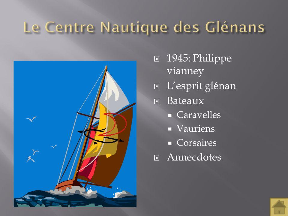 Le Centre Nautique des Glénans