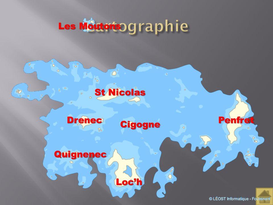 Cartographie Les Moutons St Nicolas Drenec Penfret Cigogne Quignenec