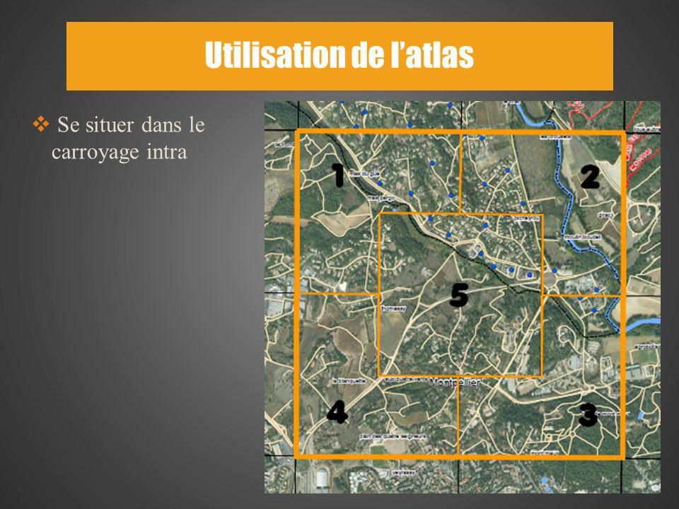 Utilisation de l'atlas