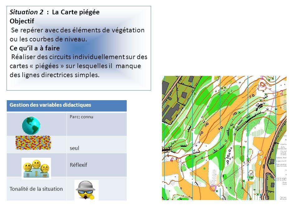 Situation 2 : La Carte piégée Objectif