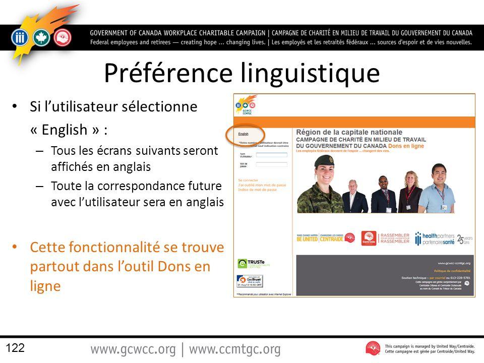 Préférence linguistique