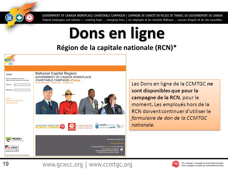 Région de la capitale nationale (RCN)*