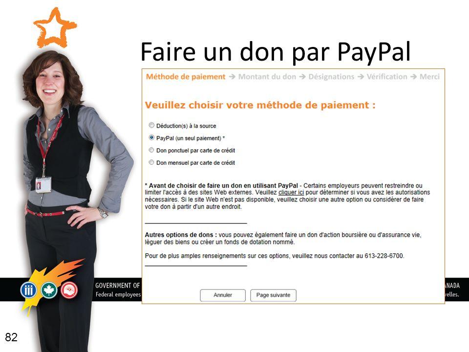 Faire un don par PayPal