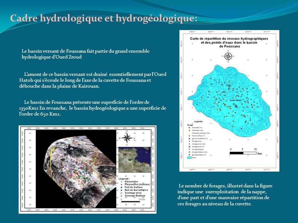 Cadre hydrologique et hydrogéologique: