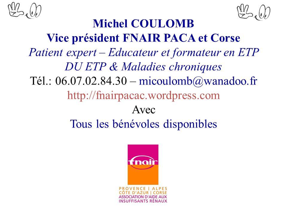 Vice président FNAIR PACA et Corse